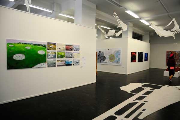 Foto © Diethard Sohn, Galerie Kunstbezirk, Irene Mueller