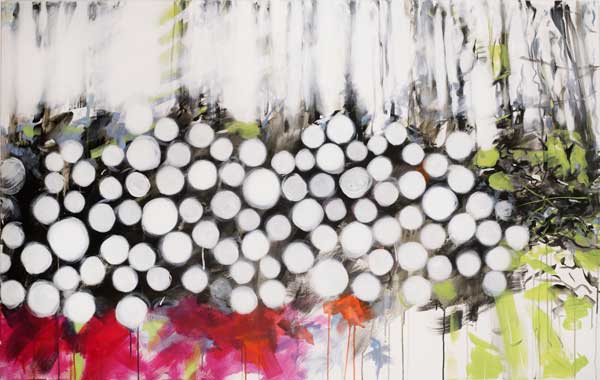 Beaufort 12 | Acryl auf Leinwand | 160 x 100 cm | Irene Müller 2016