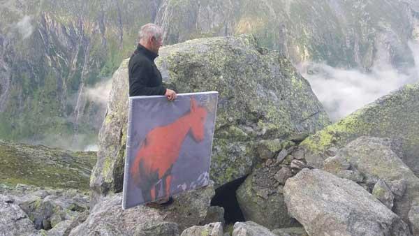 Kurz vor dem Ziel, Zillertaler Alpen SUPERWILDVISION – Alpen © Irene Müller