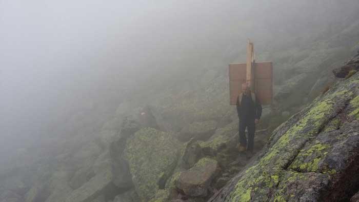 Nebel in die Zillertaler Alpen SUPERWILDVISION – Alpen © Irene Müller