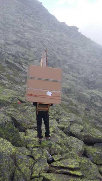 Auf dem Weg in die Zillertaler Alpen SUPERWILDVISION – Alpen © Irene Müller